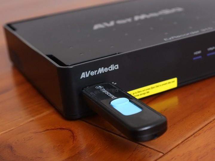圓剛 AVerMedia EzRecorder310 超級錄影王強調高畫質預約錄影開箱體驗 - 10