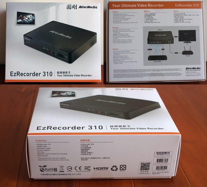 圓剛 AVerMedia EzRecorder310 超級錄影王強調高畫質預約錄影開箱體驗 - 3