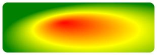 放射性漸層範例