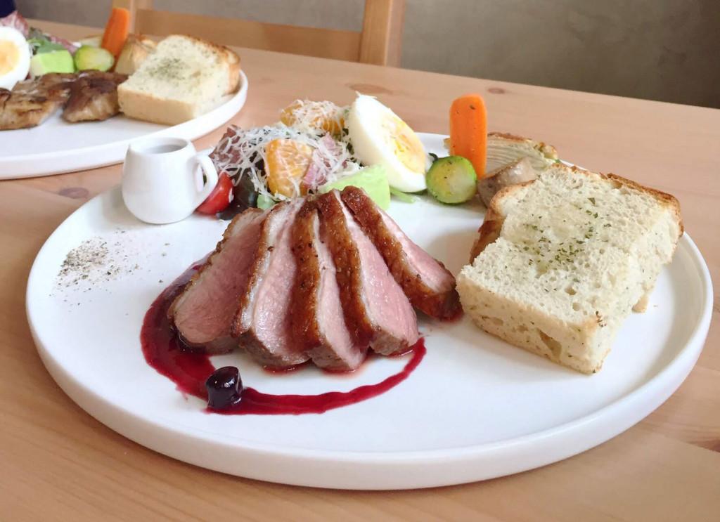 那一天義法餐館 法式櫻桃鴨胸 宜蘭好野鴨 高雄美食