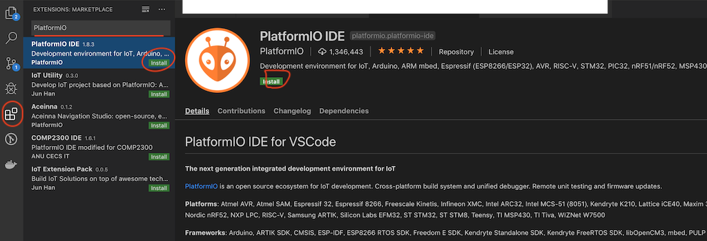 PlatformIO VSCode