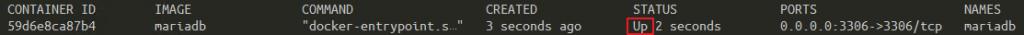 Docker 容器清單