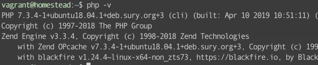 PHP版本