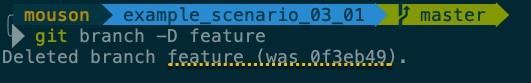 刪除前 feature 分支,在 0f3eb49 這個位置