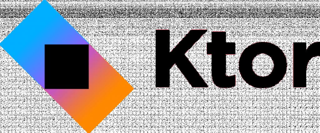 Ktor 的 Logo(來自 https://kotlinexpertise.com/kotlinktorwebdevelopment/ktor/)