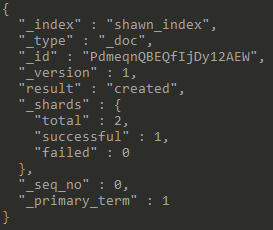 Index Response
