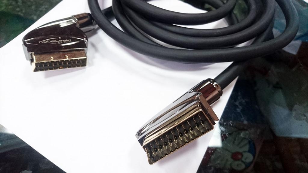 KabelDirekt – 6 feet SCART Cable