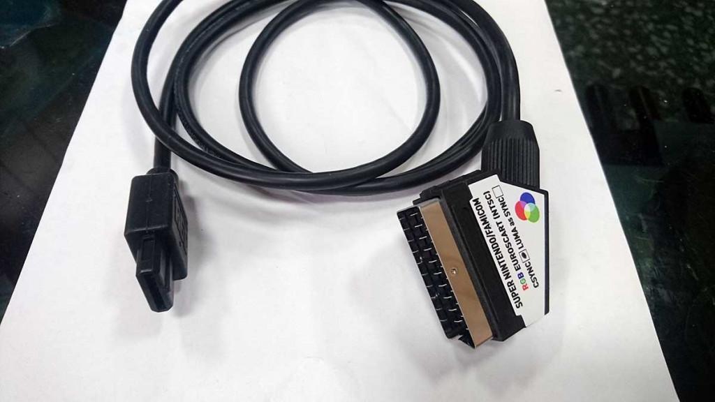 Super Nintendo NTSC Famicom SNES RGB SCART PACKAPUNCH PRO CABLE