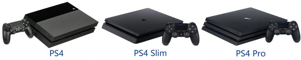 PS4 造型差異